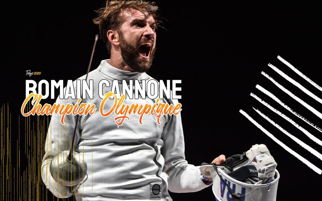 Romain Cannone Champion Olympique à l'Épée !
